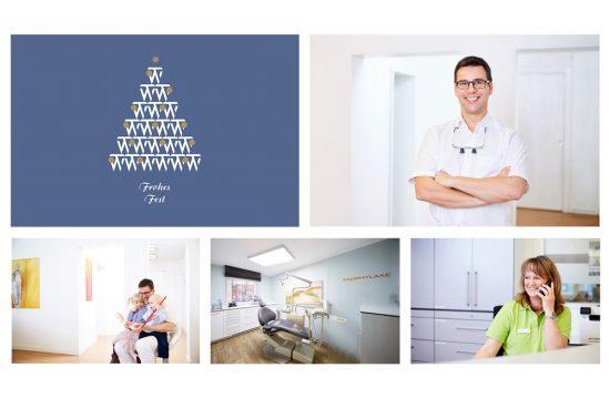Praxis für Zahnheilkunde Dr. Tobias Wicklein. Frohe Weihnachten.